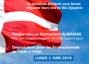 Tasting for professionals on 3 June 2019 in Copenhagen